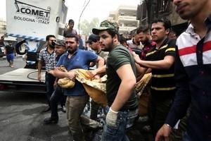 巴格達連環炸彈襲擊案 死亡人數攀至250人