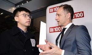 促美通過香港人權法案 黃之鋒何韻詩將赴美出席聽證