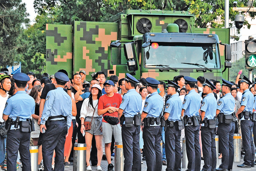 北京封路 陝出「戰時」禁酒令