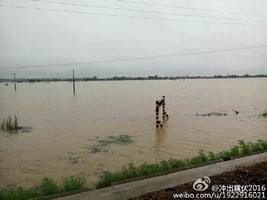 安徽洪災嚴重 堤壩瀕臨崩潰 災民籲救援