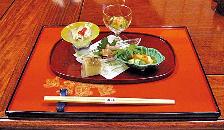 日本懷石料理。(Chris 73 /維基百科)