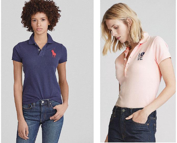 Polo shirt和牛仔褲是經典搭配。(Ralph Lauren)