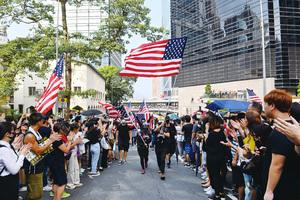 香港迫害人權者將受制裁