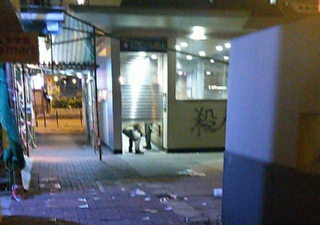 網友拍攝的9月12日凌晨太子站圖片。(網絡圖片)