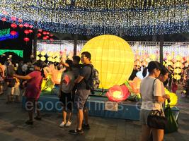 日媒:中秋節香港不忘「反送中」訴求