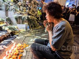 日媒:港人不信任政府 地鐵站祭典「消失的3人」