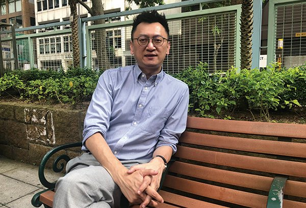 香港中文大學亞太研究所研究員徐家健教授。(梁珍/大紀元)