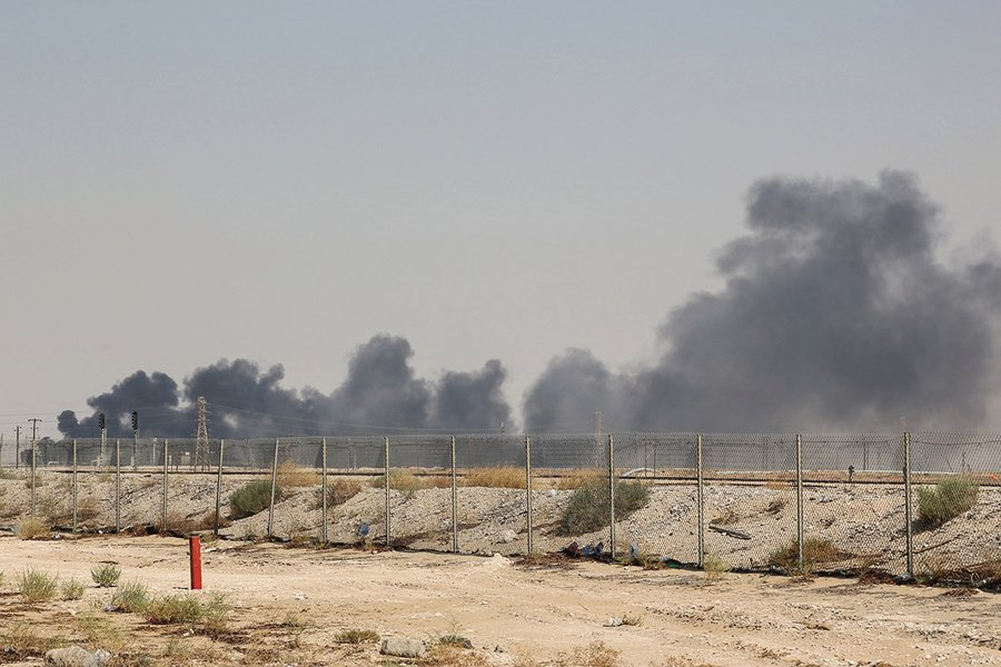 沙特石油公司遭無人機襲擊