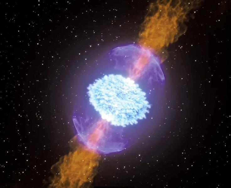 研究:千新星的誕生產生巨量黃金