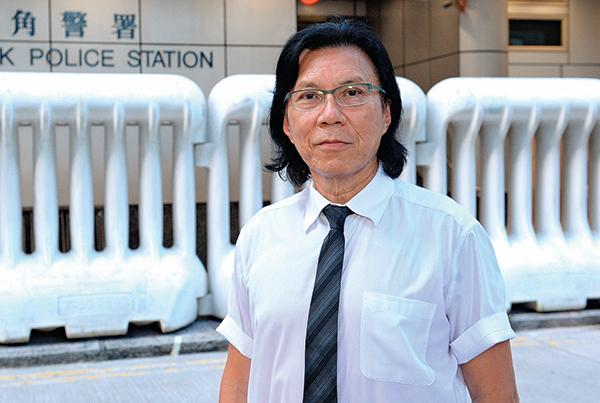 香港民主派人士、律師黃國桐。(宋碧龍/大紀元 )