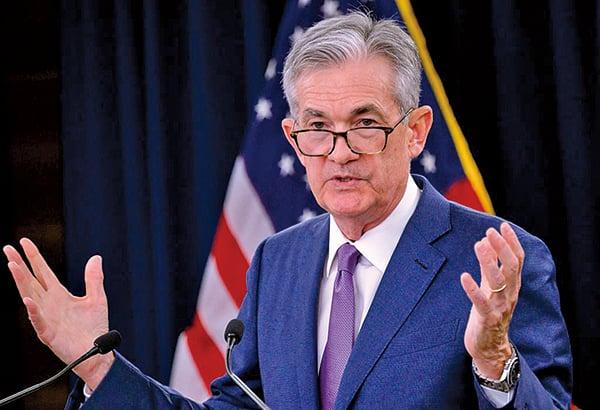 聯準會主席鮑威爾在多次演講及公開露面場合承諾,聯準會將「採取適切行動」,以維持當前經濟擴張情勢。(Getty Images)