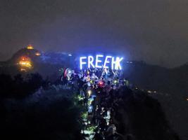 香港人站在歷史劇變最前沿 自由之戰鼓舞大陸同胞