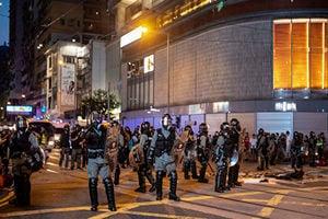 915遊行遭攻擊 新唐人記者:報道真相是天職