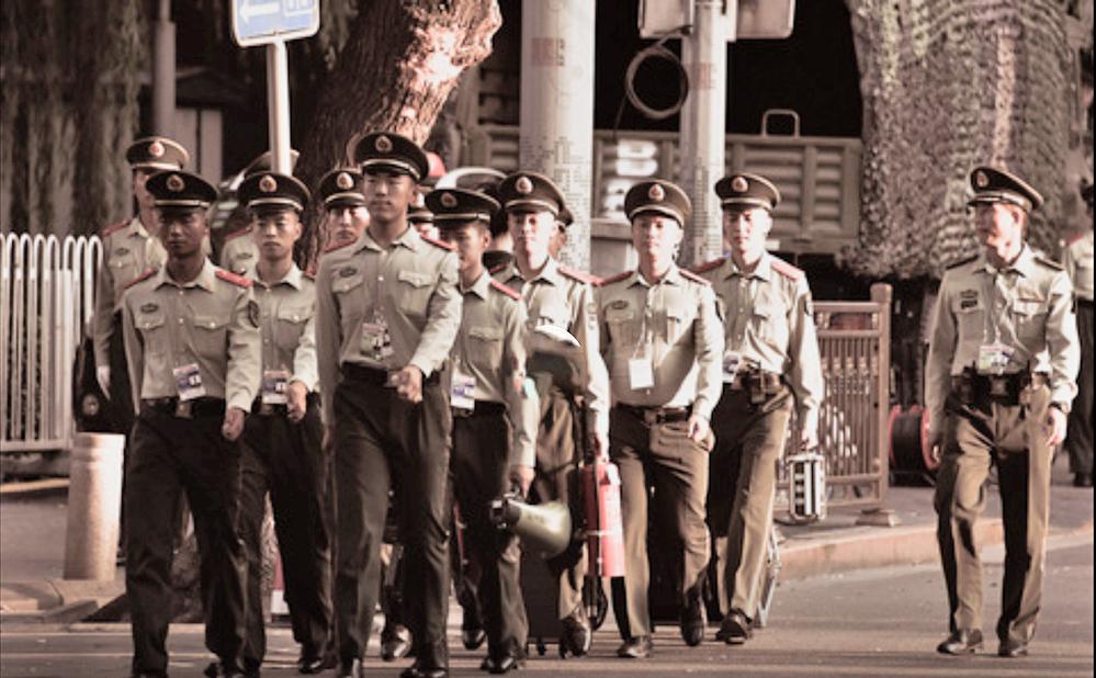 為了因應中共建政70周年活動期間的安全,中共當局進入「臨戰狀態」。(影片截圖)