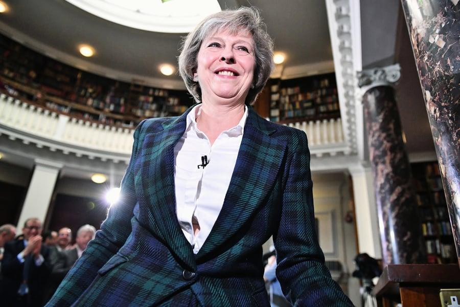 英保守黨魁初選文翠珊居冠