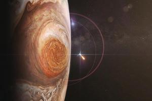 朱諾號成功進入木星軌道
