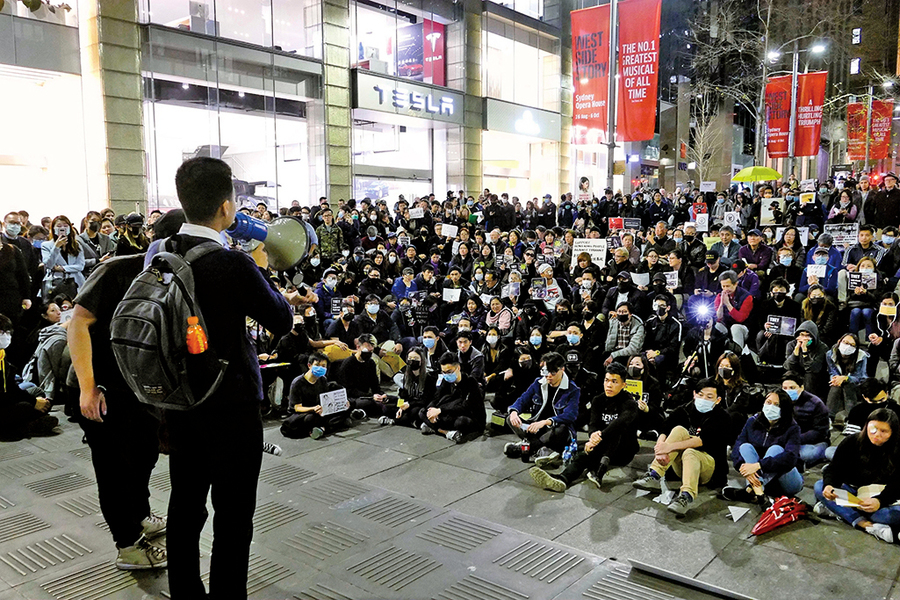 反送中持續三個月  中國留學生如何想的?