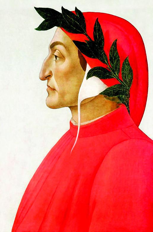 文藝復興運動的先驅者但丁。(公有領域)