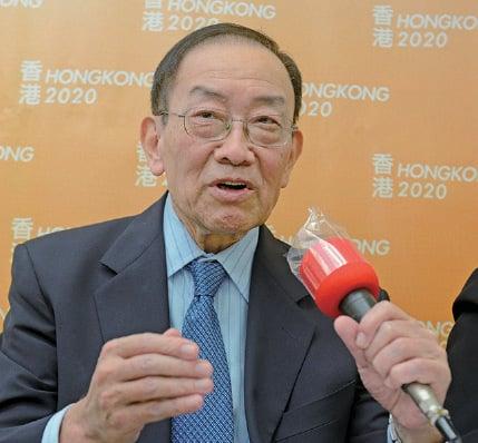 █李鵬飛說,做香港特首,當香港出現問題,一定要去承擔的時候,「我一定會站在香港人這一邊」。(大紀元資料圖片)