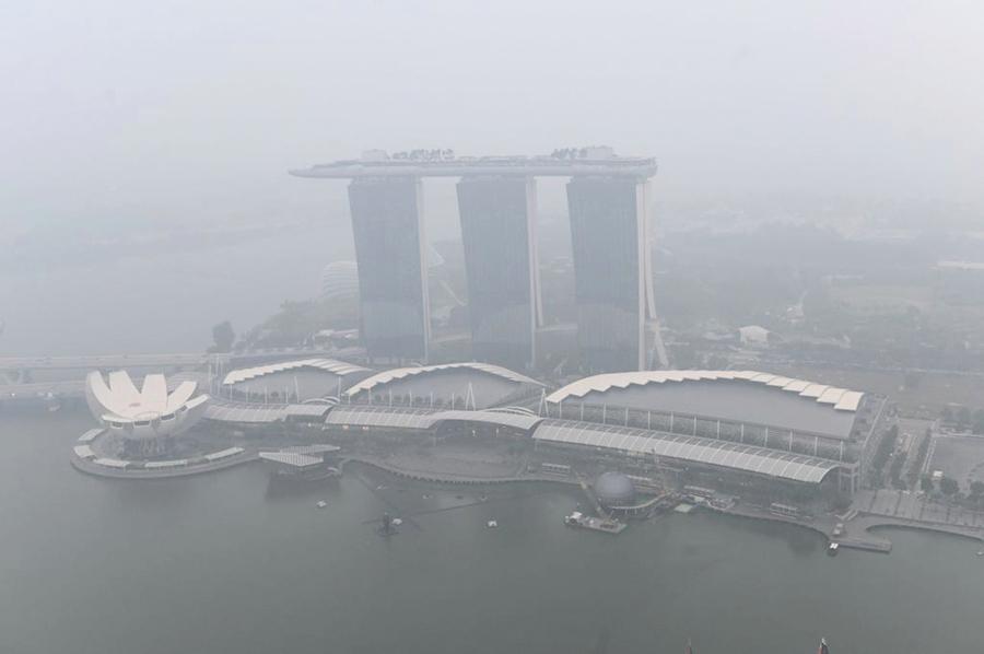 霾害惡化 馬來西亞二千多所學校停課