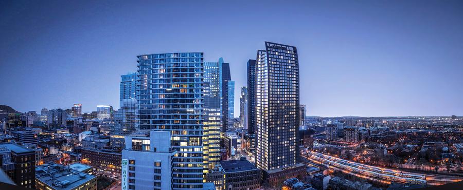 蒙特利爾金融中心五星級公寓 Centra Condos