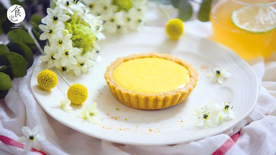 夏日甜點 :  法式檸檬塔