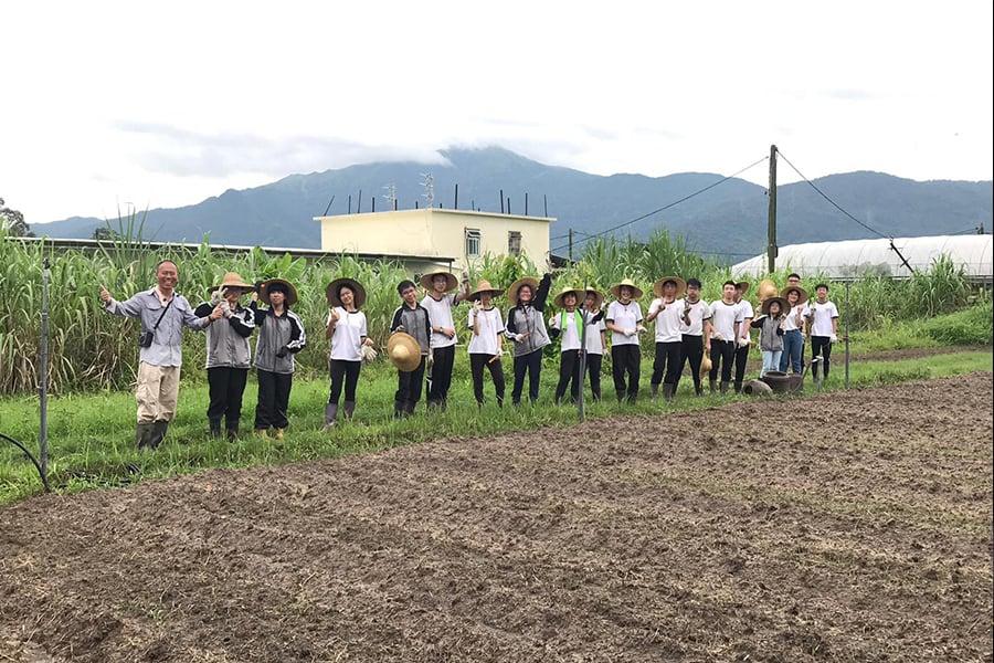 歐羅有機農場關注教育,常常舉辦不同的農場教育活動。(歐羅有機農場提供)