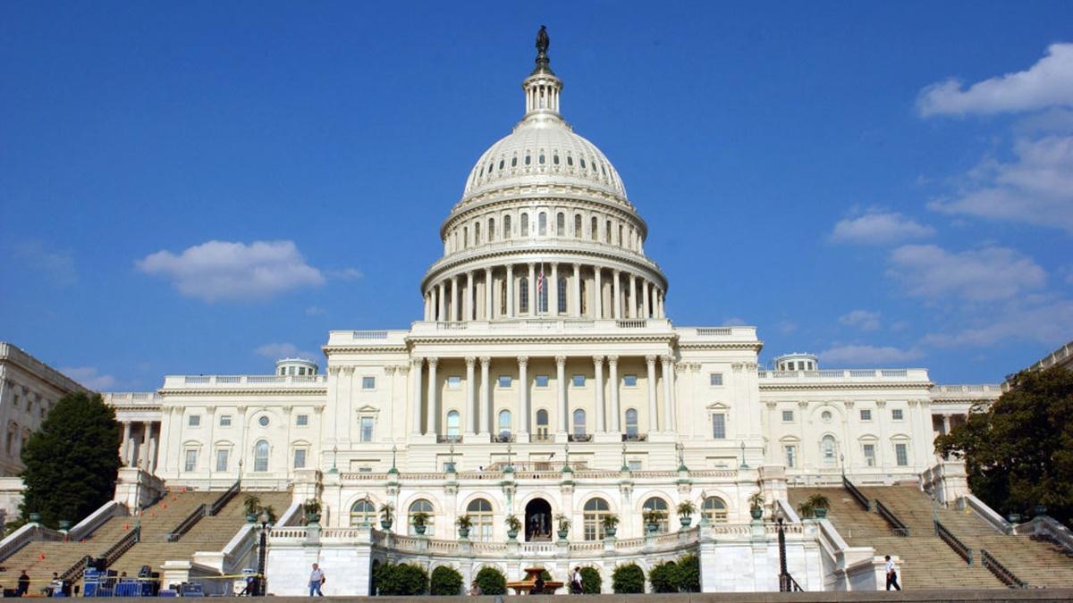 圖為美國國會。(Stefan Zaklin/Getty Images)