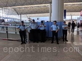 「和你塞4.0」開始 機場乘客理解抗爭者 抱怨警察擾民