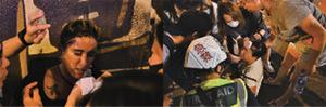 【圖片新聞】旺角警署 警對市民開槍及噴催淚水劑