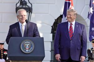 特朗普解釋三種貿易戰傳言