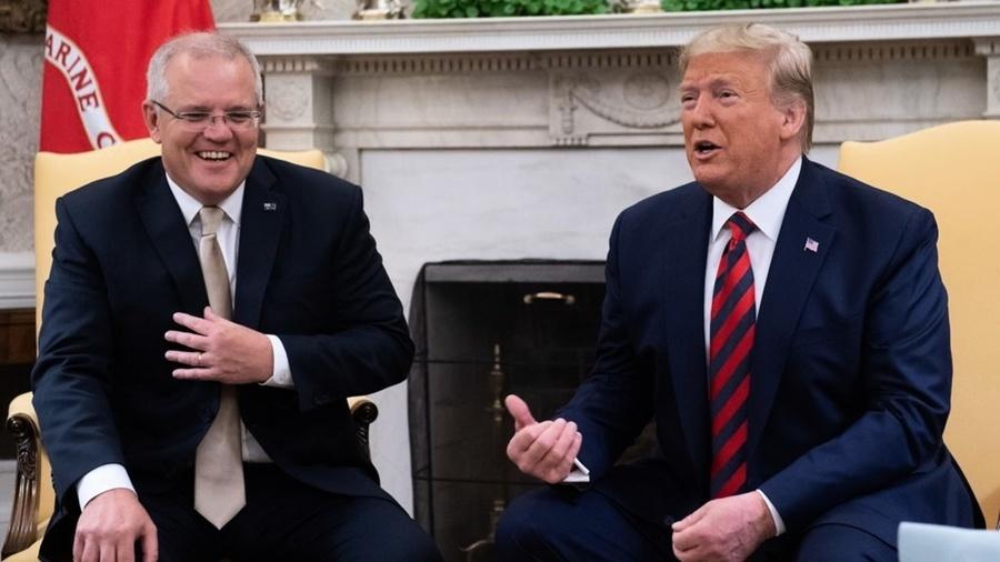 特朗普:中共威脅世界 貿易等於軍事