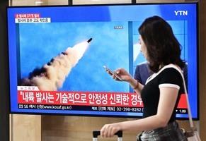 驚!北韓試射導彈 日本偵測不到飛行軌跡