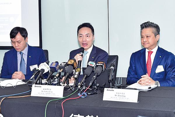 德勤:香港IPO全球第三 仍有集資優勢