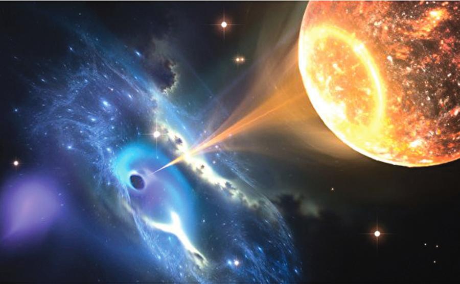 物理學家:我們處於上層宇宙的黑洞中