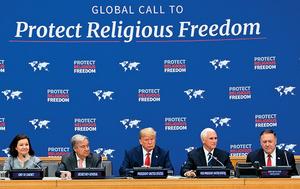 特朗普聯大促宗教自由
