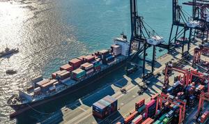 中國經香港出口連三月下降