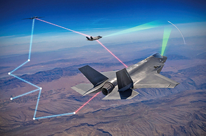 美軍F-35戰機與U-2偵察機合體戰力大增