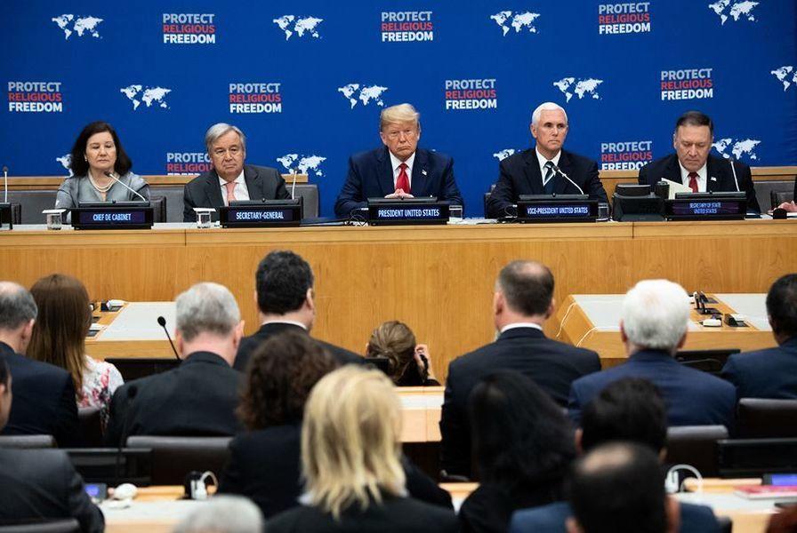 楊寧:中共迴避特朗普聯大演講、攻擊彭斯的考慮
