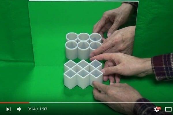 眼見不為真? 錯覺競賽佳作讓方形變圓形
