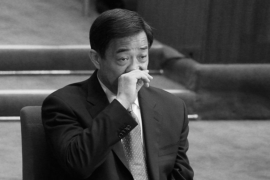 薄熙來在2006年說過的狠話「十八大不進常委進監獄」,一語成讖,在「十八大」變成事實。(Feng Li/Getty Images)