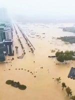 武漢被水淹全城告急 全城罵中共