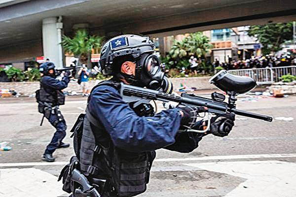 鎮壓抗議者 中共防暴聲波武器面世