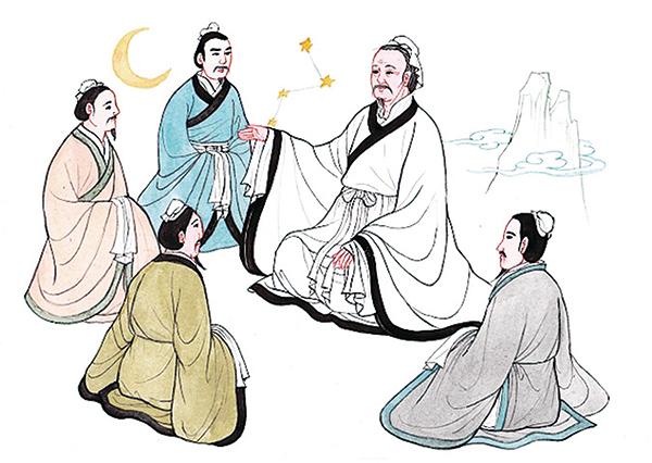 孔子教導弟子(素素/大紀元)