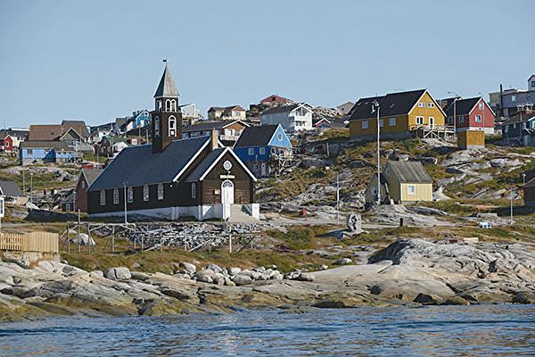8月份的格陵蘭島風光。(Sean Gallup/Getty Images)