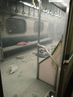 台灣鐵路一列車發生爆炸起火 21人受傷