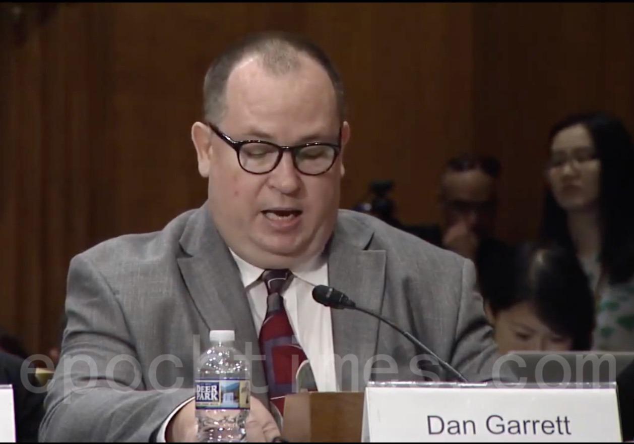 美國學者加勒特(Dan Garrett)(影片截圖)