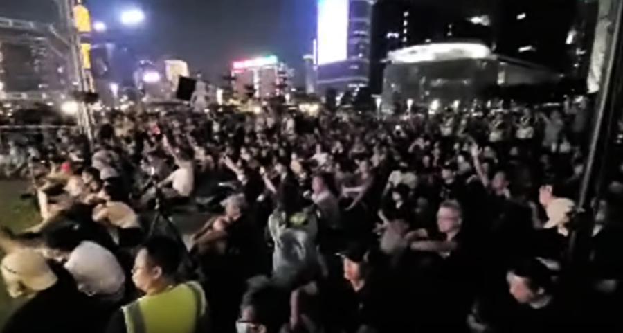 傘運5周年集會 黃之鋒:運動已無退路