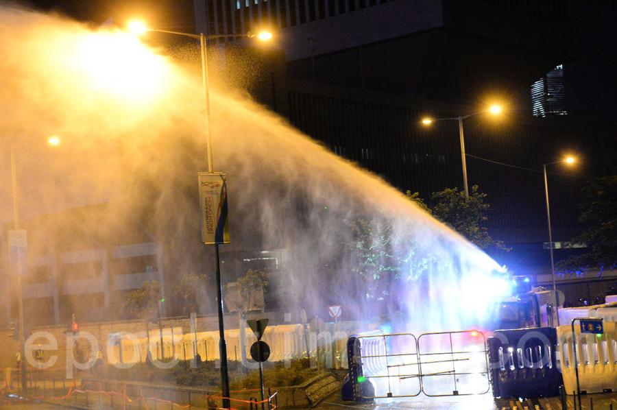 【組圖】警方提前清場 「傘運」五周年集會中途結束