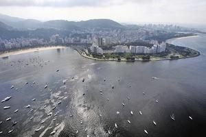 嚴重水污染威脅巴西奧運